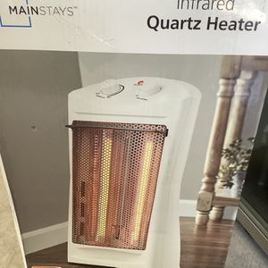 Excelent !!Infrared Quartz Heater ; Model: Mainstays, Black ; New ( Open Box) !! Good Price for Sale in Wichita, KS