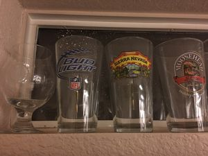 Collectible beer glasses for Sale in Chandler, AZ