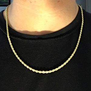Gold Chain Rope Chain 20in 3mm for Sale in Haddon Heights, NJ