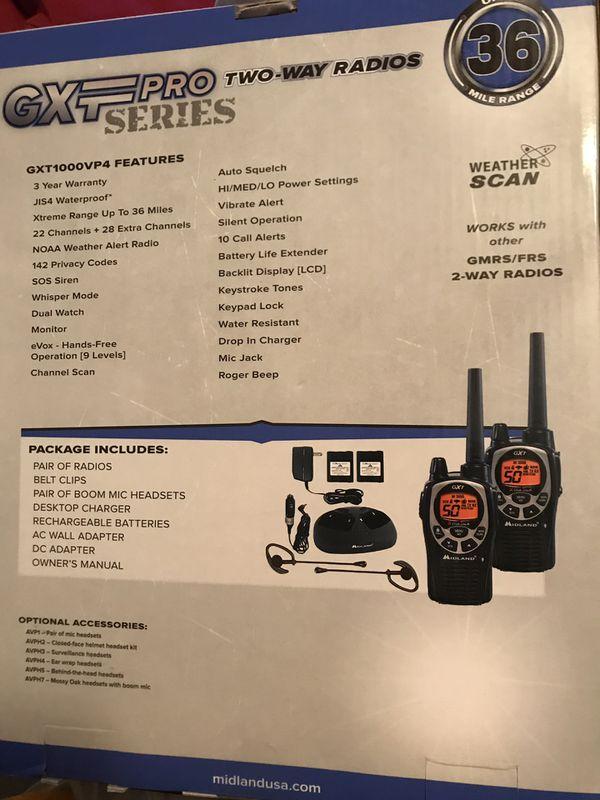Walkie-talkie 2 way radios