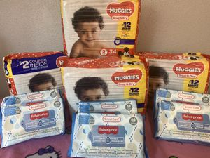 Huggies diapers size 3 for Sale in Parkland, WA