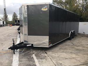 8.5x24 Enclosed trailer for Sale in Pembroke Pines, FL