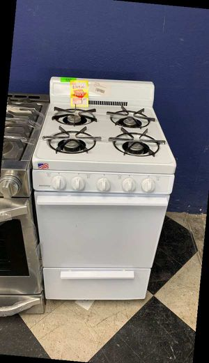 HOLIDAY BAK101OO 4 BURNER GAS STOVE BIP for Sale in Irving, TX