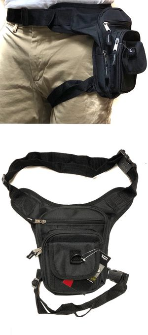 NEW! Waist Pouch Hip Holster Pouch drop leg bag Waist Bag Side Bag hiking camping hunting biking Pouch Waist Pack for Sale in Carson, CA