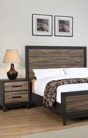 Special for Black Friday ‼ SALES Tacoma Brown Panel Bedroom Set by Crown Mark for Sale in Jessup, MD
