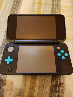 Baby blue and black Nintendo new 2ds xl with 200 3ds games , ds , 2ds , 128gb for Sale in Los Angeles, CA