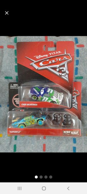 """DisneyPixar CARS """"Superfly"""" & """"Chip"""" ●□● for Sale in Williamsport, PA"""