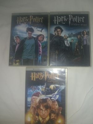I have 3dvbs movies of Harry potter for Sale in Baxley, GA
