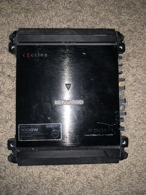 Kenwood excelon amp for Sale in Colorado Springs, CO