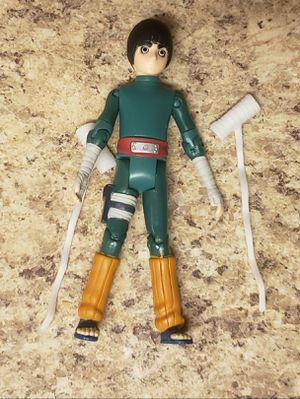 """Rare Mattel Naruto Rock Lee 2002 5"""" Inch Action Figure Loose L@@k! for Sale in Aurora, CO"""