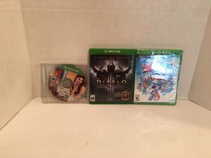 Xbox one game bundle for Sale in San Bernardino, CA