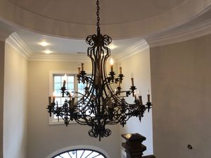 Iron chandelier for Sale in Franklin, TN