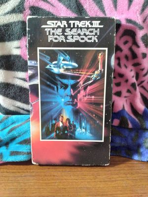 STAR TREK 3: THE SEARCH FOR SPOCK (VHS) for Sale in Phoenix, AZ