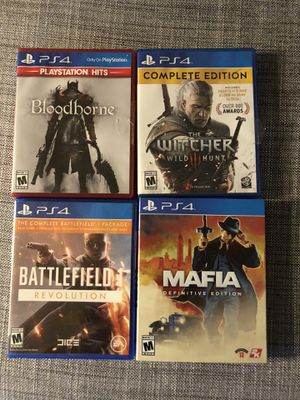 Ps4 games for Sale in McLean, VA