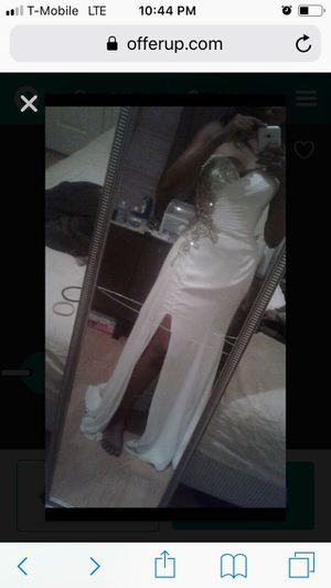 White wedding /prom dress for Sale in Winter Haven, FL