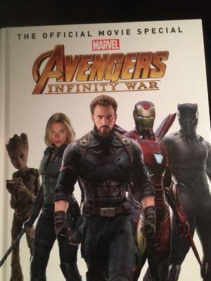 Avengers Invinty war Book for Sale in Palo Alto, CA