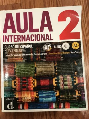 Aula Internacional spanish Textbooks with Audio. Books 2&3. for Sale in Chicago, IL