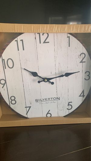 Wall Clock 13.3in Diameter for Sale in Las Vegas, NV