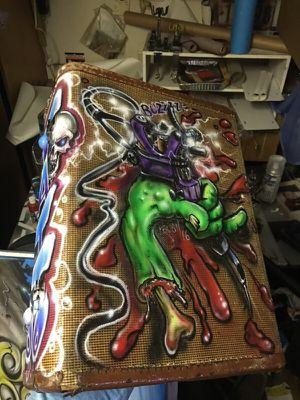 Hand painted tattoo case for Sale in Phoenix, AZ