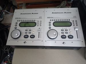 $70 EACH AMERICAN AUDIO PRO DJ for Sale in Riverside, CA