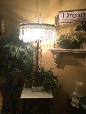 Antique Italian beaded crystal lamp for Sale in Boynton Beach, FL