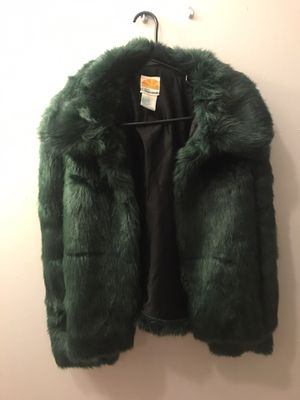 Coat (emerald green) for Sale in Shaker Heights, OH
