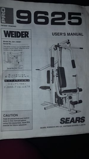 Like new weight bench/exercise equipment. for Sale in Jefferson City, MO
