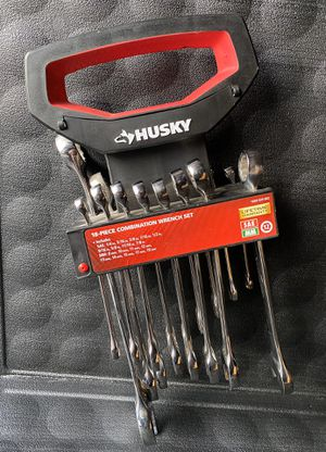 Husky SAE/Metric Combination Wrench Set (missing 19mm for Sale in Redlands, CA
