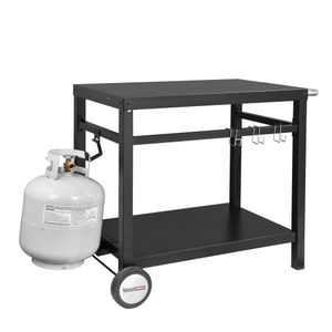 BBQ Work Table Outdoor Kitchen Prep Cart Stainless Steel c for Sale in Rancho Cucamonga, CA