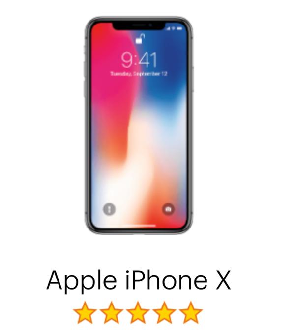 4 Verizon iPhoneX 64 gig space Gray $1000 each