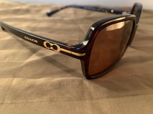 AUTHENTIC COACH Blair Sunglasses Polished Dk Tortoise Brown Grade *PRESCRIPTION* for Sale in Clermont, FL
