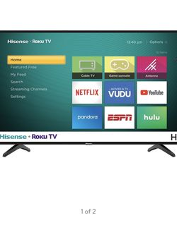 """Roku TV By Hisense 32"""", Excellent Condition for Sale in Stanford,  CA"""