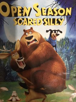 Open Season Scared Silly Dvd Movie for Sale in Elma,  WA