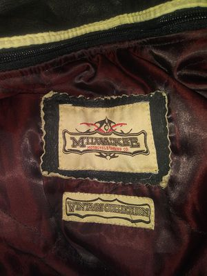 Milwaukee motorcycle clothing company vintage collection police edition for Sale in Wichita, KS