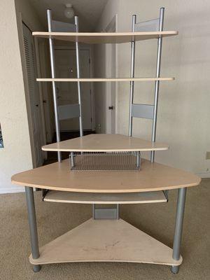 Efficient corner desk and hutch for Sale in Alafaya, FL