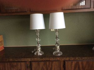 Crystal lamps for Sale in Puyallup, WA