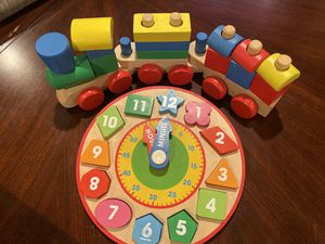 Toddler Wooden Toys, $10 for Sale in Canton, MA