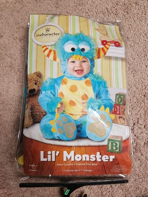Halloween little monster costume for Sale in Peoria, IL