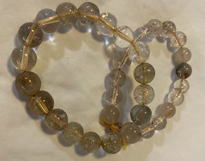 Two handmade natural stone bracelets for Sale in St. Louis, MO