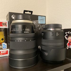 Canon RF 24-105mm Lens And EF Tamron 15-30mmL Series for Sale in San Diego, CA