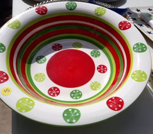 Beautiful Holiday Bowl for Sale in Ocala, FL