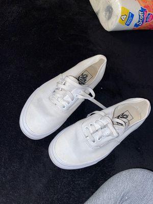 white vans for Sale in Mauldin, SC