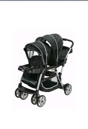 Graco Ready2Grow Click Connect LX Double Stroller, Gotham for Sale in Santa Ana, CA