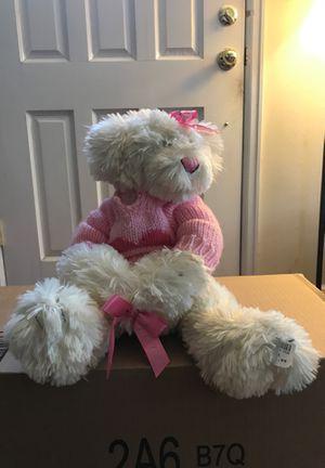 White teddy bear for Sale in Denver, CO