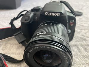 Canon T5i with additional $150 for lens for Sale in Baltimore, MD