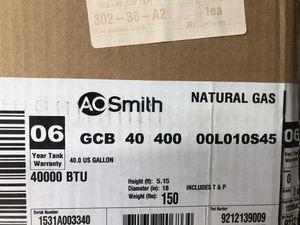 40 gallon gas water heater still in box for Sale in N REDNGTN BCH, FL