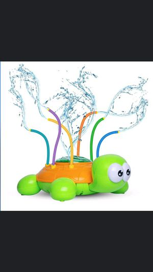 Spinning Turtle Sprinkler Toy with Wiggle Tubes $15 for Sale in Long Beach, CA