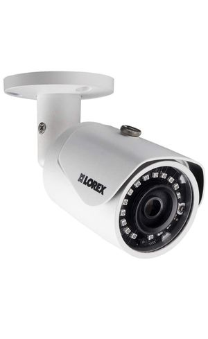 Lorex LNB4173SB 4MP 2K IP Bullet Camera with color night vision 100ft cable lot for Sale in Shrewsbury, MA