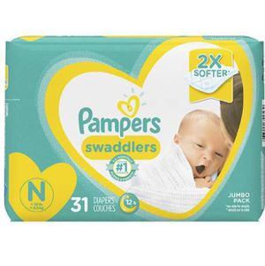 Pampers Diapers Newborn - 31 Diapers Each Pack for Sale in San Jose, CA