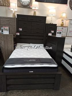 Gabriella Queen Bed Frame**MATTRESS NOT INCLUDED**, Charcoal, SKU# ASHB249-QTC for Sale in Norwalk,  CA